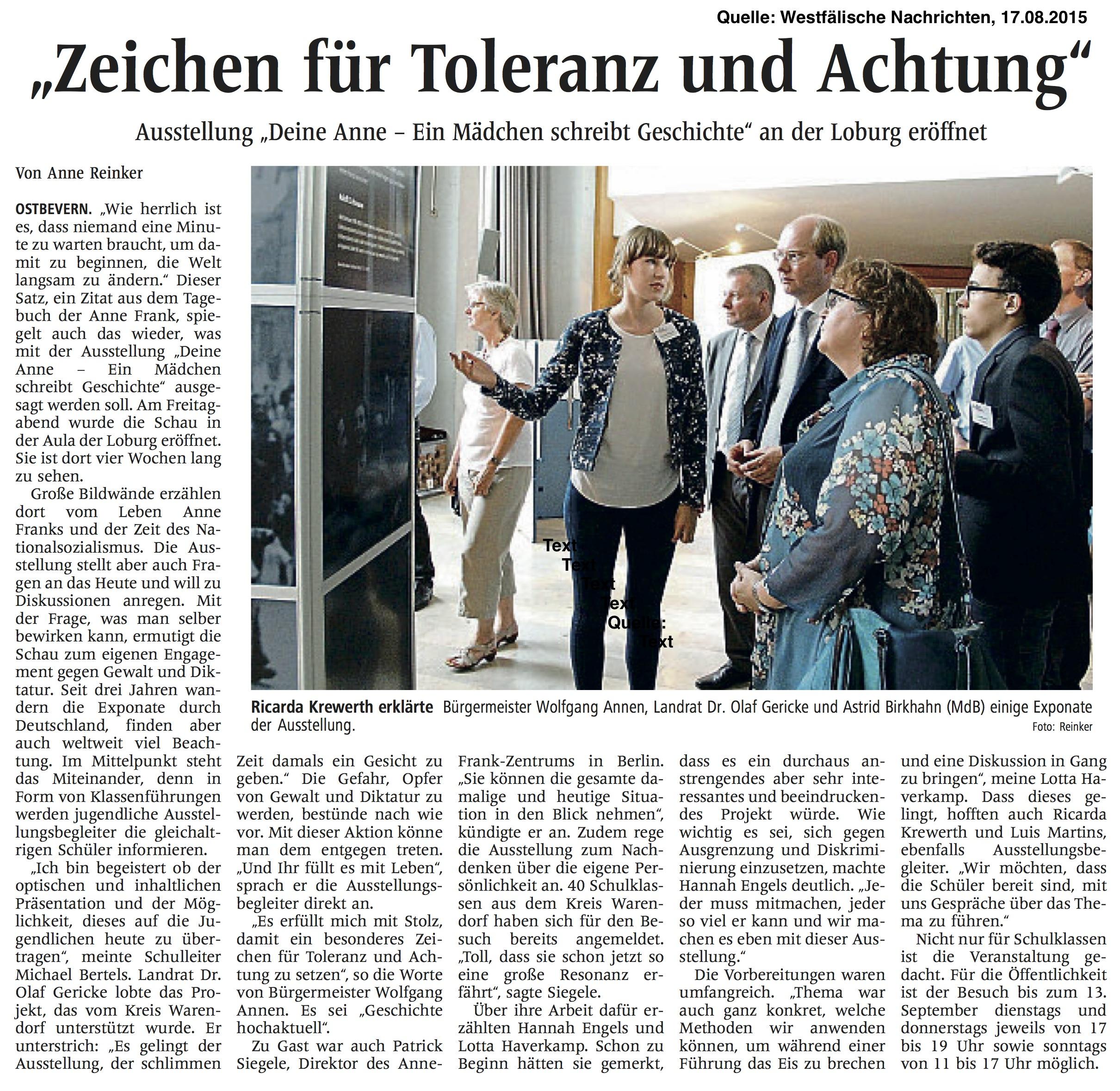 WN Eröffnung Anne-Frank-Ausstellung_2015-08-17